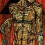 Портрет Мастера -1.     2015 г.    Холст, масло.       100х70 см.