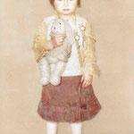 Юрий Первушин.    Портрет Эли.    2004 г. Холст, масло. 100х80 см.