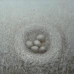 Гнездо.      2013 г.       Холст, акрил.      60х65 см.