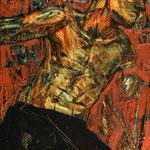 Портрет Мастера -2.       2015 г.    Холст, масло.         120х70 см.