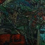 Кокошник.      2015 г.    Холст, масло.       70х120 см.