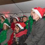 ...hebben we gezellig kerstliedjes gezongen!