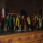 In 2013 hebben we de Carnavalsmis gezongen in de Kerk in Melderslo