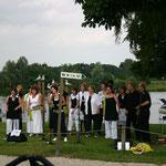 """In juli 2005 zongen we bij """"Jet aan de Maas""""...."""
