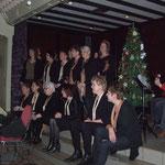 ....hebben we een optreden gegeven voor de Vrouwenbond....