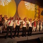 ....een show gegeven in het MFC in Melderslo