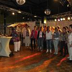 Op 17 mei 2014 zongen we op de 25-jarige bruiloft van een koorlid