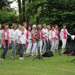 Op 8 juni 2017 gaven we een buitenconcert bij het Vlasven in Melderslo