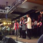 .... tijdens de 9de editie van de Sing Challenge in Sevenum