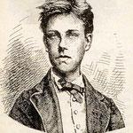 """Thomas Blanchet, ritratto per l'antologia """"I poeti maledetti"""" (1884)"""