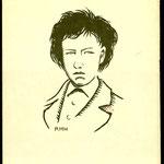René-Henry Munsch, incisione su legno
