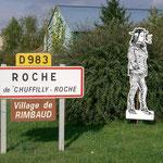 Roche, piccolo villaggio nei pressi di Attigny