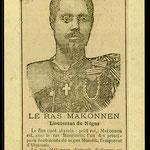 Ras Makonnen, governatore della provincia di Harar, diventerà amico di Rimbaud