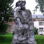 Statua di Rimbaud a Charleville-Mézières