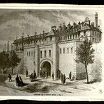 Prigione di Mazas, dove Rimbaud fu rinchiuso per una decina di giorni