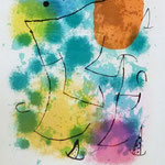 "Joan Mirò, ""Hommage à Rimbaud"" (1962)"