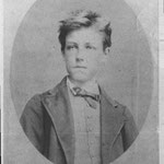 Rimbaud. Copia d'epoca della celebre foto di E. Carjat (archivio Claudel)