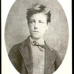 Rimbaud nella foto di Etienne Carjat