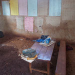 The classroom of the first graders.