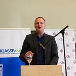 """KLASSEnSÄTZE-Koordinator Heiko Reich: """"Die viele Arbeit hat sich gelohnt. Jetzt haben die Hamburger Schulen einen tollen Wettbewerb für Kreatives Schreiben."""""""