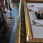 Bilderrahmen - Blattgold Vergoldung - Gold'n art