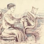 Vera Moore dessin de Jane Adams