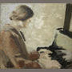 Vera Moore painted by Winifred Nicholson