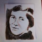 Monotype de Bénédicte Koudry-Lahlali