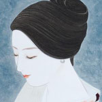 「香」 F4号 紙本彩色 2014年制作