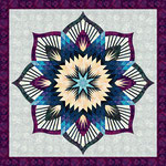 Frozen fountain Quiltworx pattern
