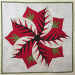 Poinsettia laura Quiltworx pattern