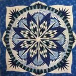 Montana Snowflake- Laura- Allysyn's Wonderland Quiltworx pattern