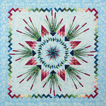 Cattails in the meadow quiltworx pattern