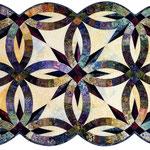 Bali Bed Runner quiltworx pattern
