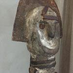 OFO N°2 - NIGERIA - BOIS, METAL, PIGMENTS - HAUTEUR 50 CM