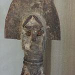 OFO N°1 - NIGERIA - BOIS, METAL, PIGMENTS - HAUTEUR 50 CM