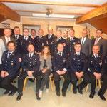 Neugewählte Vorstandschaft mit Ehrengästen