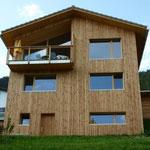 Ferienhaus aus Holz.