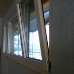 Fenstermontage erfolgt.