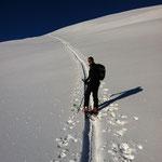 Skitouren in einer eindrucksvollen Natur.