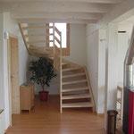 Ferienhaus Morissen, Treppe.