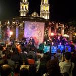 Latino Blanco Band en Festival Internacional de Campeche (México)