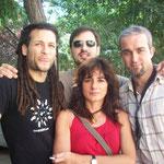 Kontxi Lorente Quartet by Vicente Sabater