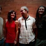 Kontxi Lorente Quartet Milenia estudios by Vicente Sabater