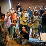 Latino Blanco Band grabación Milenia estudios