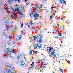 Dentro l'esteriore, tecnica mista, cm 100x150, 1998, collezione privata