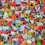 Il piacere dell'armonia, olio su tela, cm 70x100, 2003