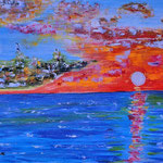 Estate emotiva, olio su tela, cm 50x70, 1988, collezione privata