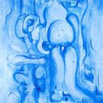 Purificazione sensuale, tecnica mista, cm 50x70, 1998