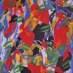 Bacio modulare, acrilico su tela, cm 50x70, 1983
